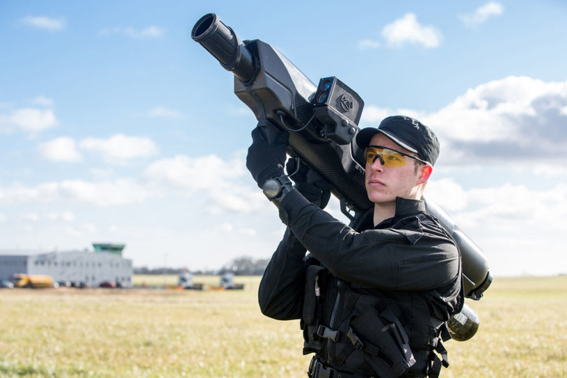 Skywall 100 to najlepszy sposób, by bronić się przed dronami /materiały prasowe