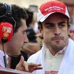 Słabe morale w Ferrari. Alonso dochodzi do siebie