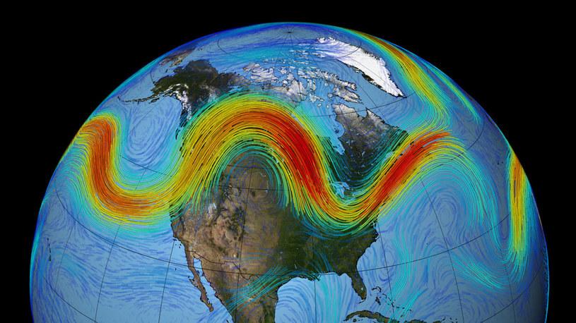 Słabszy polarny prąd strumieniowy umożliwia zimniejszemu powietrzu rozlewać się po świecie /materiały prasowe