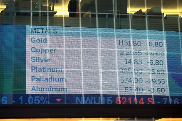 Słaby dolar podbija ceny metali szlachetnych /AFP