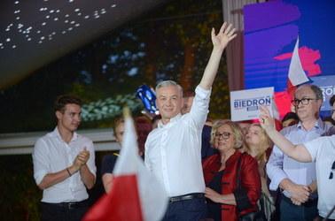 Słaby wynik Roberta Biedronia w Słupsku. Były prezydent miasta jest... czwarty