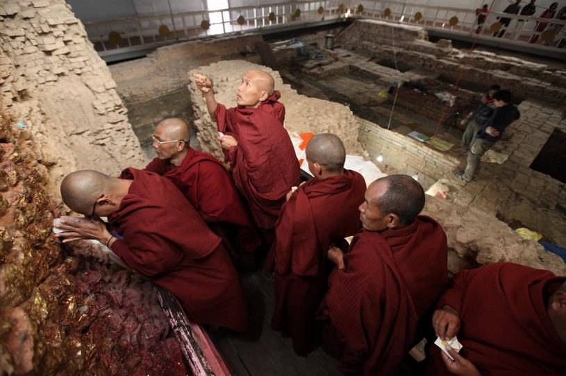Ślady najstarszej buddyjskiej świątyni /IRA BLOCK/NATIONAL GEOGRAPHIC /AFP