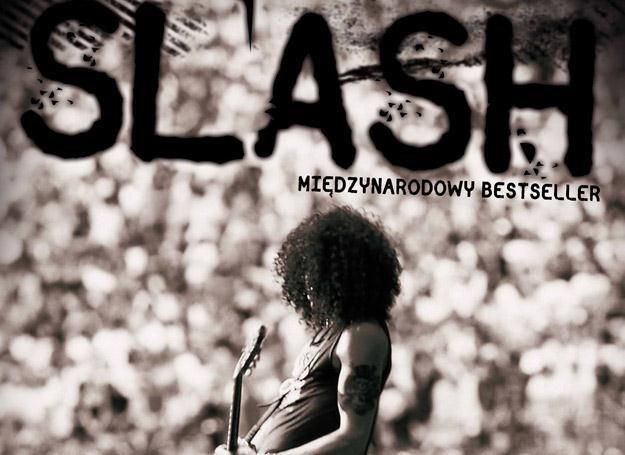 Slash na okładce swojej ujmująco szczerej autobiografii /