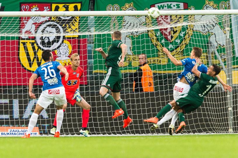 Śląsk - Lech 0-0 /Maciej Kulczyński /PAP