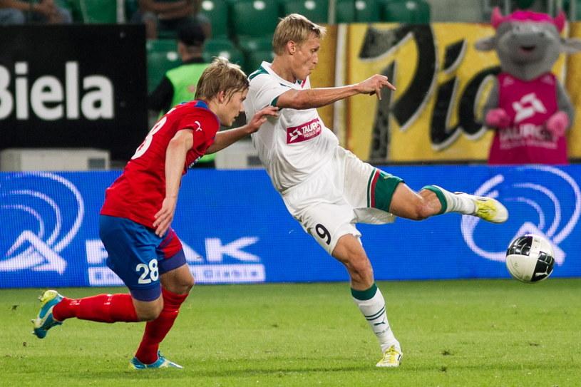 Śląsk przegrał z Helsingborgiem aż 0-3 /Fot. Maciej Kulczyński /PAP