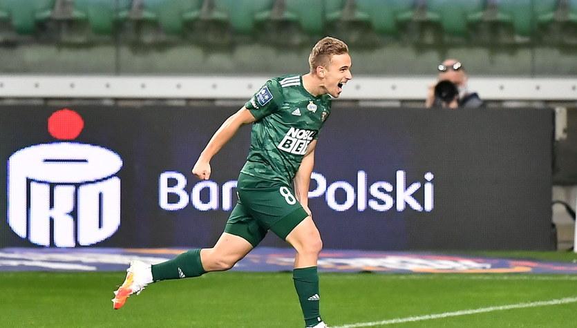 Śląsk Wrocław - Jagiellonia Białystok 1-0 w meczu 8. kolejki Ekstraklasy