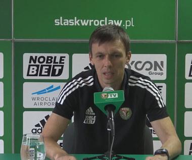 Śląsk Wrocław. Paweł Barylski przed meczem z Wartą Poznań. wideo