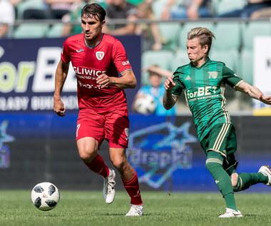 Śląsk Wrocław - Piast Gliwice 3-1 w meczu 36. kolejki Ekstraklasy