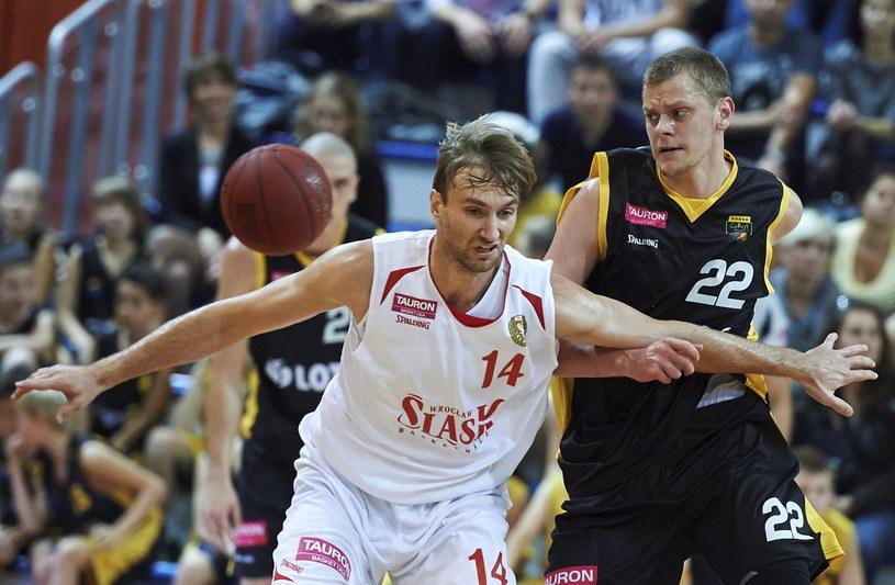 Śląsk wygrał z Treflem 95:93 /Fot. Adam Warżawa /PAP