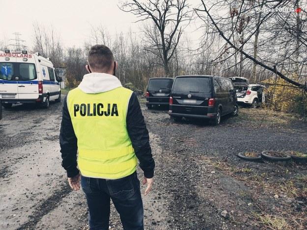 Śląska policja opublikowała zdjęcia z miejsca wydarzeń w Rudzie Śląskiej /slaska.policja.gov.pl /Policja