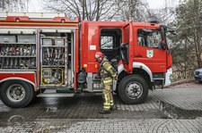 Śląskie: Alarm przeciwpowodziowy. Zalane ulice, ciężarówka w rowie