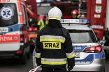 Śląskie: Pożar magazynu firmy kurierskiej