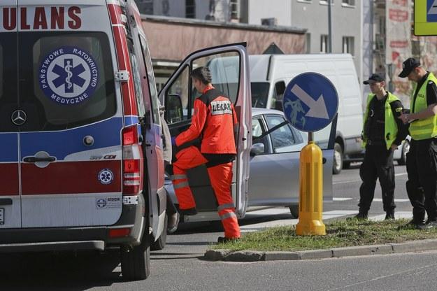 Śląskie: Wypadek z udziałem karetki (zdj. ilustracyjne) /Piotr Jędzura /Reporter