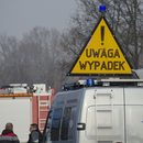 Śląskie: Zderzenie ciężarówki z busem. Pięć osób rannych