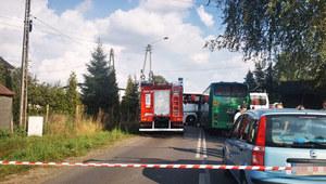 Śląskie: Zderzenie szkolnych autobusów. Ranne dzieci