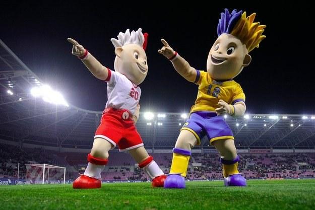 Slavek i Slavko - to imiona maskotek Euro 2012 /AFP