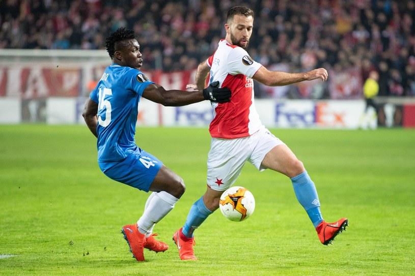 Slavia Praga - KRC Genk /VLASTIMIL VACEK /AFP