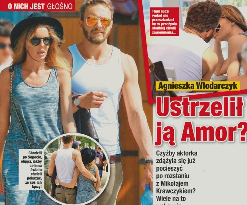 Sławek i Agnieszka na spacerze /- /Twoje Imperium
