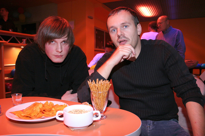 Sławek Uniatowski i Kasa, 2006 rok /Palicki /AKPA