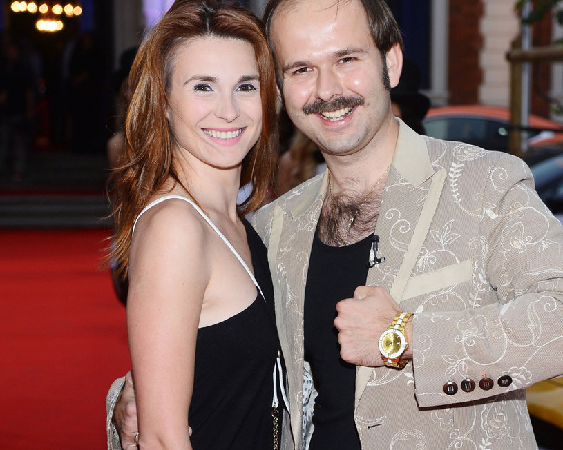 Sławek z żoną /Jarosław Antoniak /MWMedia