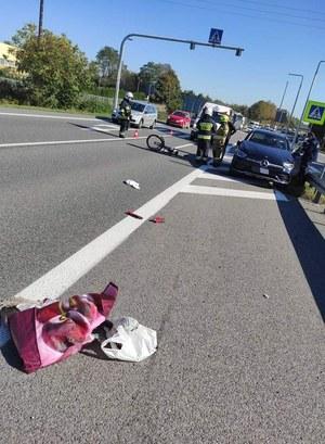 Sławków: Wypadek na przejściu dla pieszych. Za kierownicą siedział burmistrz Olkusza