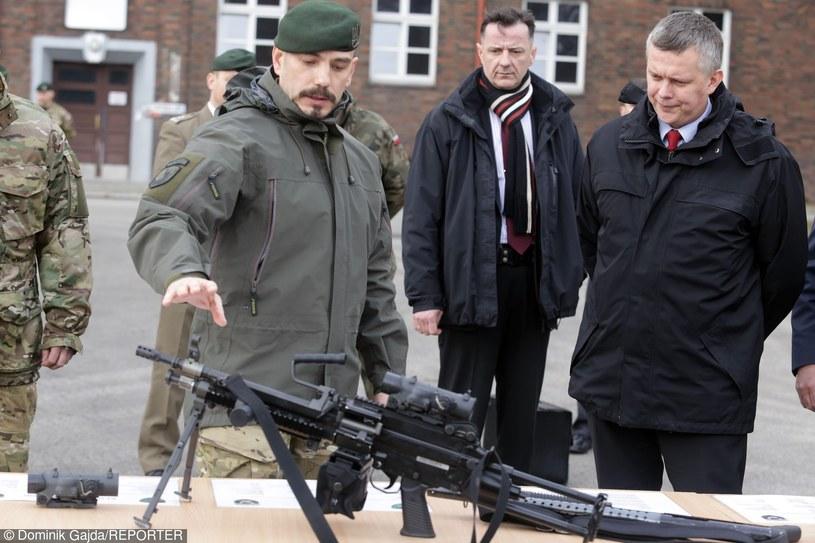 Sławomir Berdychowski z byłym ministrem obrony Tomaszem Siemoniakiem /Dominik Gajda /Reporter