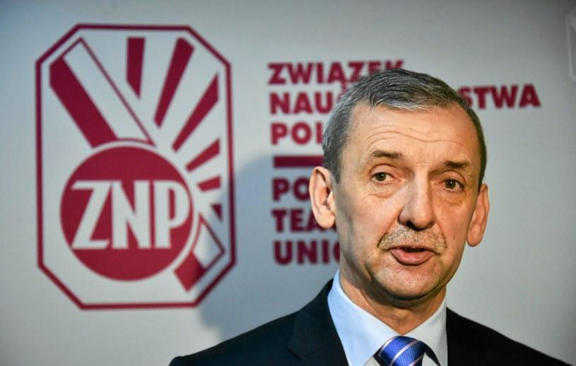 Sławomir Broniarz, prezes ZNP /Agencja Gazeta