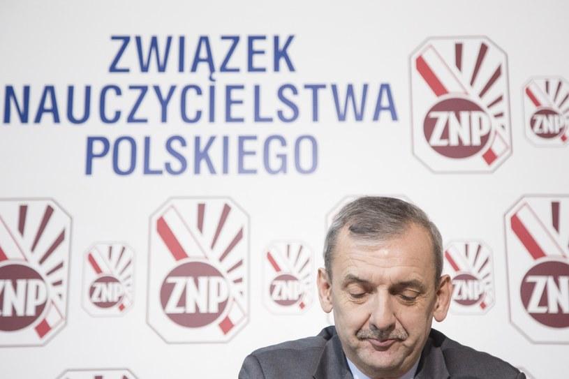 Sławomir Broniarz /Maciej Luczniewski /Reporter