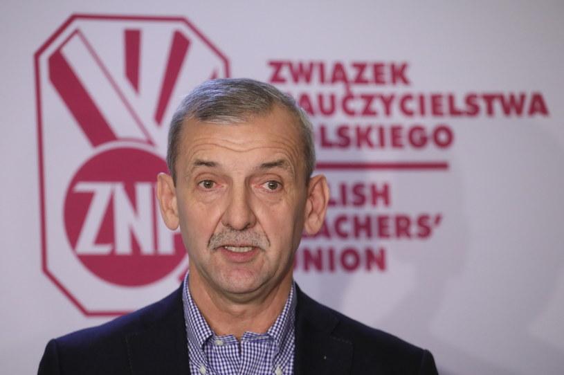 Sławomir Broniarz /Paweł Supernak /PAP