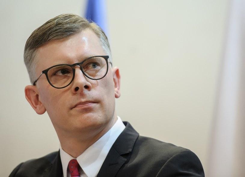 Sławomir Cenckiewicz, jeden z nowo wybranych członków Kolegium IPN /Rafal Oleksiewicz/REPORTER /Reporter