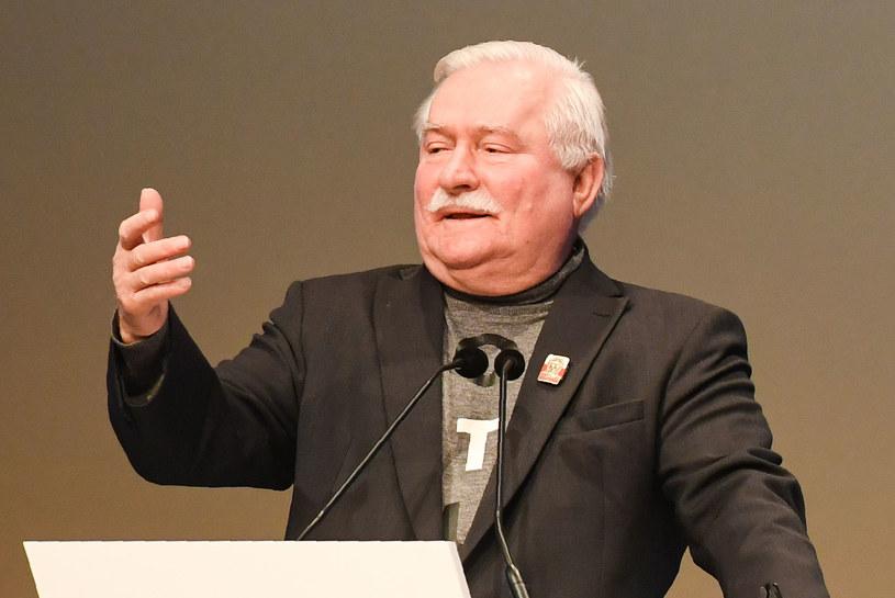 Sławomir Cenckiewicz wezwał Lecha Wałęsę do opublikowania przeprosin za zarzuty o sfałszowanie dokumentów /CHRISTOF STACHE /AFP