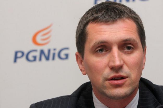Sławomir Hinc, wiceprezes PGNiG. Fot. Darek Redos /Reporter