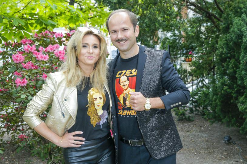 Sławomir i Kajra tworzą razem muzyczny projekt /Podlewski /AKPA