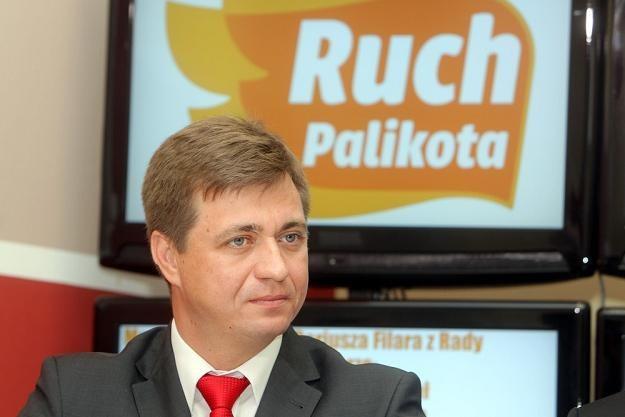 Sławomir Kopyciński z Ruchu Palkiita. Fot. JAN KUCHARZYK /Agencja SE/East News