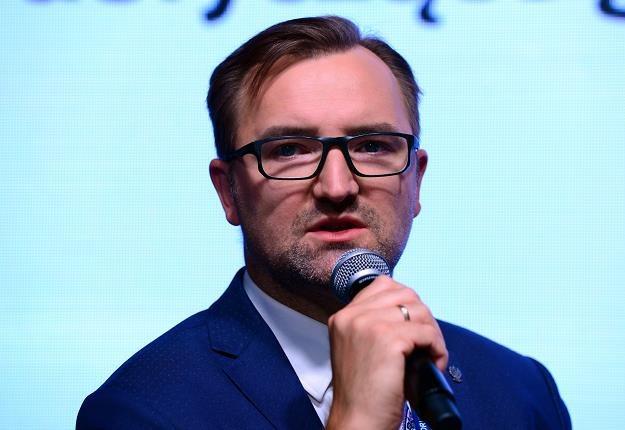Sławomir Mazurek, wiceminister środowiska. Fot. Piotr Guzik /FORUM