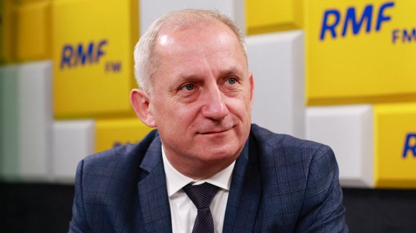 Sławomir Neumann był gościem Porannej rozmowy w RMF FM /Karolina Bereza /RMF FM