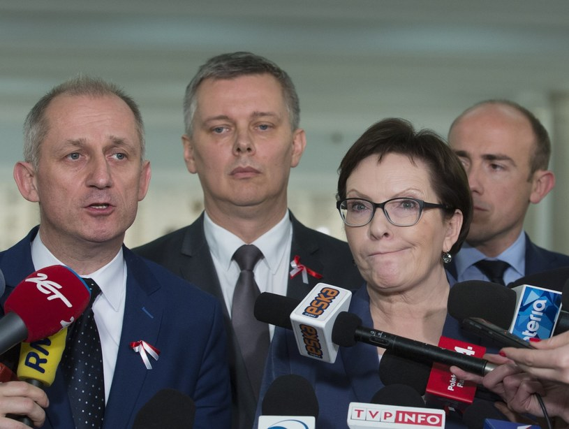 Sławomir Neumann, Tomasz Siemoniak, Ewa Kopacz, Borys Budka /Andrzej Iwańczuk/Reporter /East News