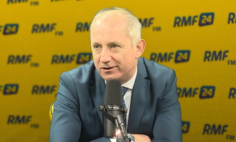 Sławomir Neumann w RMF FM /RMF