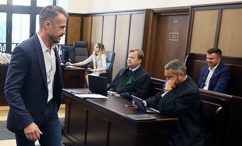 Sławomir Nowak i Marek Falenta w sądzie /Tomasz Gzell /PAP
