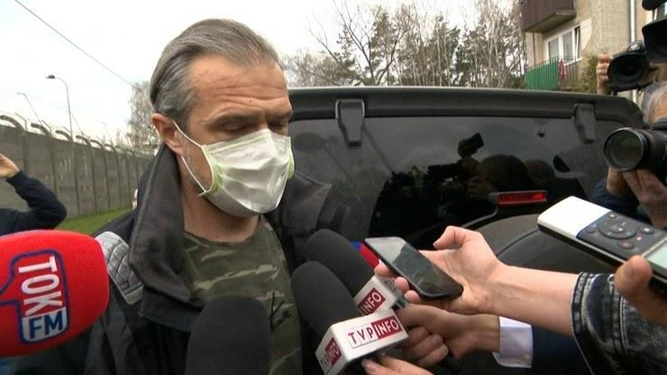 Sławomir Nowak musiał wpłacić milion złotych poręczenia majątkowego /Polsat News