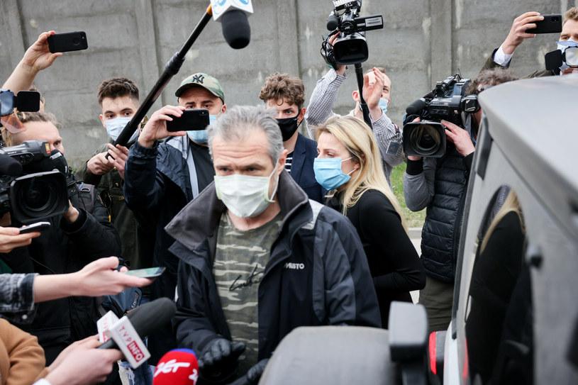 Sławomir Nowak opuścił areszt śledczy na warszawskiej Białołęce w kwietniu / Jacek Domiński /Reporter