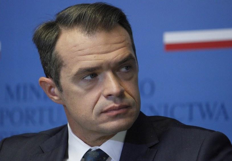 Sławomir Nowak. /Krystian Dobuszyński /Reporter