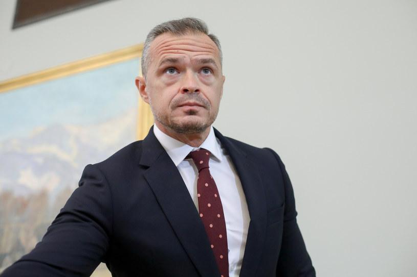 Sławomir Nowak /fot. Andrzej Iwanczuk /Reporter
