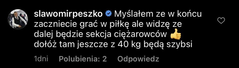 Sławomir Peszko Instagram /Instagram