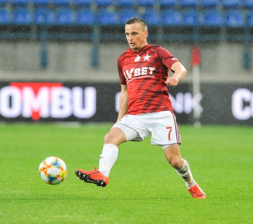 Sławomir Peszko jest wypożyczony do Wisły z Lechii Gdańsk /MICHAL KLAG/REPORTER /East News