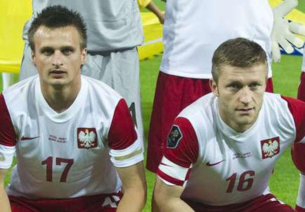 Sławomir Peszko (z lewej) i Jakub Błaszczykowski /AFP