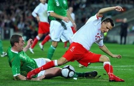Sławomir Peszko zdobył jedyną bramkę dla Polski /AFP