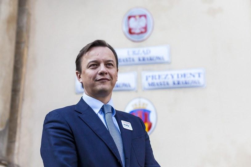 Slawomir Ptaszkiewicz, były krakowski polityk /Szymon Blik /Reporter
