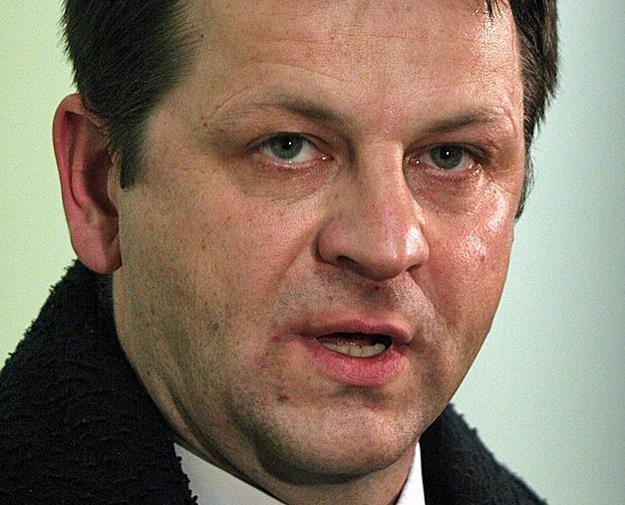 Sławomir Siwy, szef związku celników. Fot. Jacek Wajszczak /Reporter