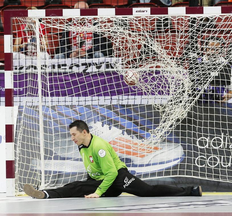 Sławomir Szmal w meczu z Argentyną /PAP/EPA